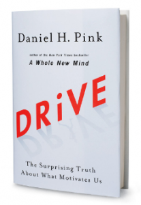 Thanks to @DanielPink for his support of our book club...and for his amazing book. (Did we need to write that? Does it sound too suck-uppy?)