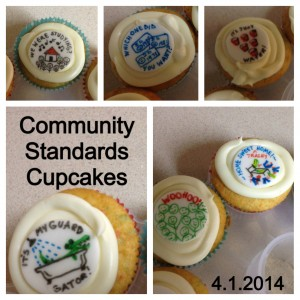 Cupcakes were baked and photographed by the author.